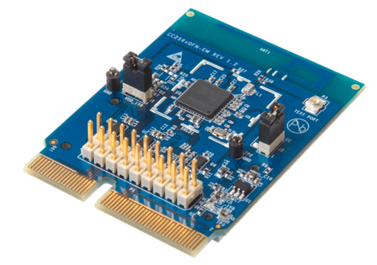 CC2564B Dual-mode Bluetooth® Controller Evaluation Module