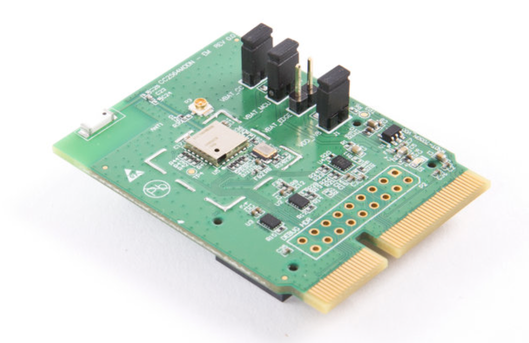 Dual-mode Bluetooth® CC2564 module evaluation board