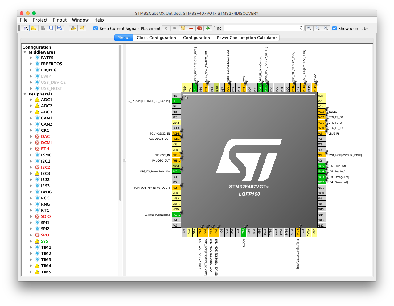 BTstack Port for STM32 F4 Discovery Board with CC256x
